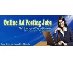 Earn Rs.30000/- every month from home - Simple Data Entry Jobs & Copy Paste Jobs