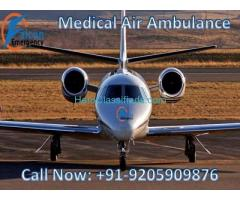 Get Low Fare Air Ambulance Services in Guwahati with ICU Facility