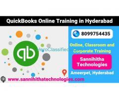QuickBooks Online Training in Hyderabad