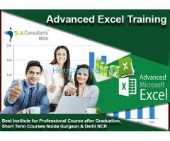 SLA Consultants Gurgaon  : Join The Best Advanced Excel Classes in Gurgaon