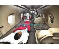 Get Air Ambulance in Guwahati with Bed to Bed Transfer Facility
