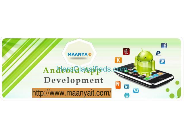 Android App Development Company in Gorakhpur | Maanya IT Services