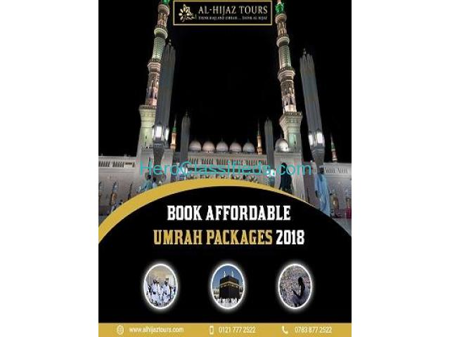 Low cost umrah package with great facilities