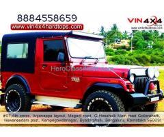 4x4 Equipments In Bangalore | Hardtops In Bangalore -  Vin 4×4 Hardtops