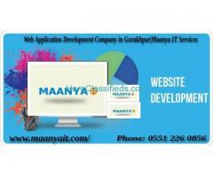 Web Application Development Company in Gorakhpur|Maanya IT Services