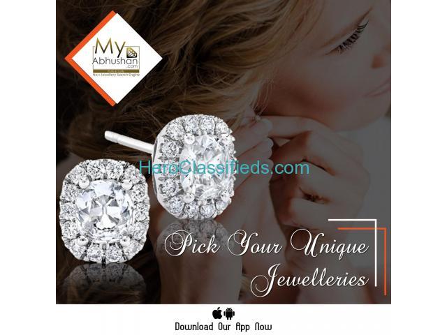 Latest Diamond rings an affordable price   MyAbhushan.com