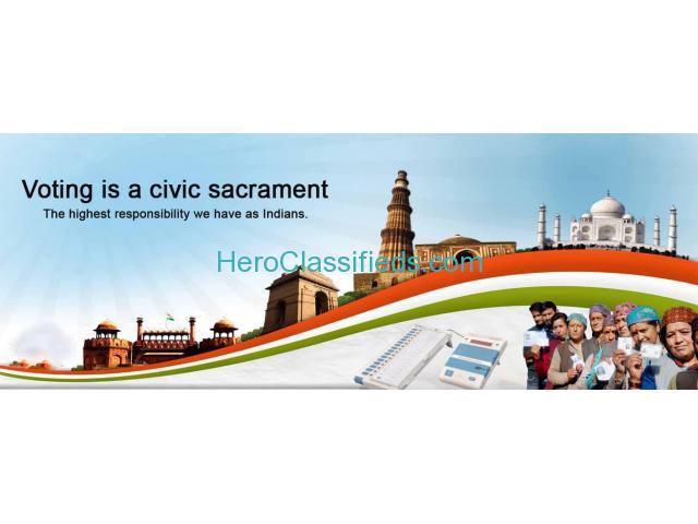 My Vote My India