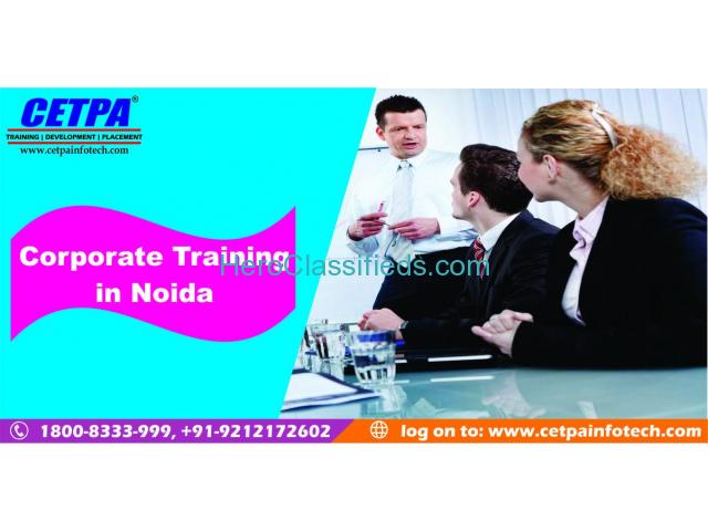 CETPA Noida provides the best Corporate training and placement in Noida.