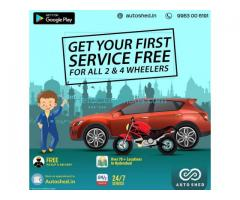 Car and Bike Repair Service Centers in Banjara Hills, Hyderabad - Autoshed