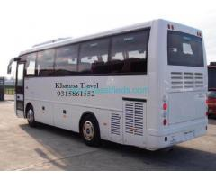 Rental Bus – Book Tour & Holiday Online by Khanna Travel