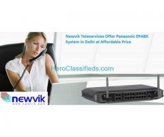 Newvik Teleservices Offer Panasonic EPABX System in Delhi