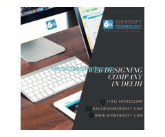 Top Web Designing Company In Delhi, India- 6ixwebsoft