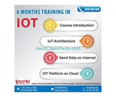 Live Project 6 Months IoT Industrial Training Course in Noida