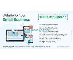 Web designing, Website creation at LOw cost