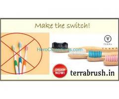 Best Bamboo Tooth Brush Online | Organic Tooth Brush – Terrabrush.in