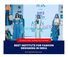 Best Institute for Fashion Designing in India