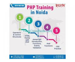 6 Weeks PHP project based training in noida