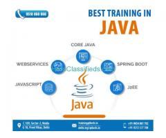 Find the best Java professional training in Noida
