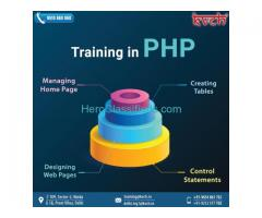 Best php professional training center in Noida
