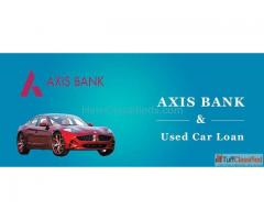 Get AXIS Bank Used Car Loan in Hyderabad