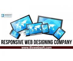 Responsive Web Designing Company- 6ixwebsoft
