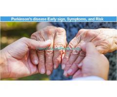 Parkinson's disease Early sign, Symptoms, and Risk