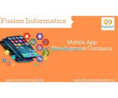 Mobile App Development Company in Riyadh,Jeddah,Saudi Arabia-Fusion Informatics