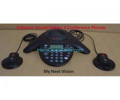 Polycom Sound Station 2 Expandable Analog Conference Phone