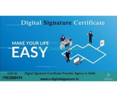 Digital Signature Certificate Agency in Delhi NCR