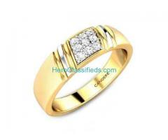 Buy Trendy Mens Rings Online At Upto 15% Off At Candere