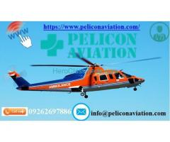 Get Most Trusty Air Ambulance Services from Ranchi by Pelicon Aviation