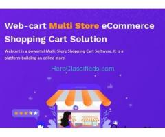 Webcart-Ecommerce Multiple Storefronts in India