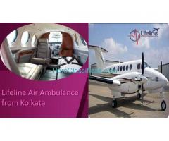 Get World-Class Charter Air Ambulance in Kolkata by Lifeline Anytime