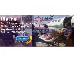 Lifeline Air Ambulance in Dibrugarh Cut Travel Time in an Emergency