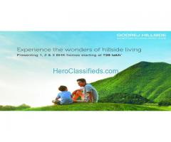 Godrej Hillside is a Luxurious Residential Apartments in Mahalunge, Pune