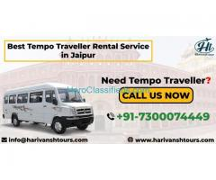 Best Tempo Traveller Rental Service in Jaipur