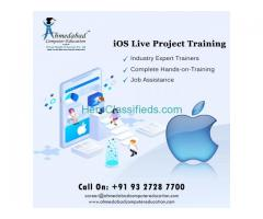 iOS training Courses and Live IT Project Training 100% Placement Institute in Ahmedabad