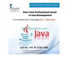 java training Courses and Live IT Project Training 100% Placement Institute in Ahmedabad