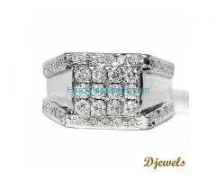 Diamond Gents Ring with 7 Stone