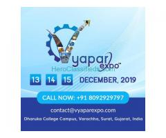 VYAPAR EXPO - SURAT, GUJARAT, INDIA - 13-15 DEC,2019