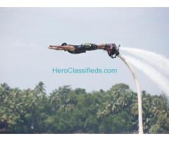 Flyboarding in North Goa