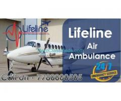 Book Budget Friendly Air Ambulance from Dimapur Anytime by Lifeline Air