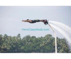Flyboarding in South Goa