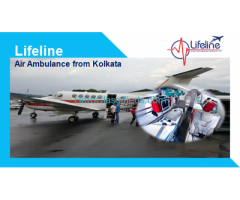 Book Cost-Effective Air Ambulance in Kolkata with ICU Facilities