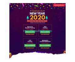 New Year  Web Hosting Coupons | Upto 75% OFF | Temok IT Services