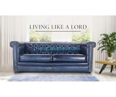 Buy Ultra Luxury ChesterField Sofas, Chairs Online, Sofa Manufacturers