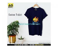 Opt for Amazing Custom T shirt Online India at Beyoung