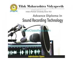 Adv. Diploma in Sound Recording Technology