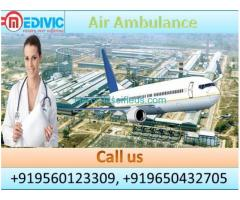 Hire Air Ambulance in Hyderabad by Medivic Aviation at Low Cost