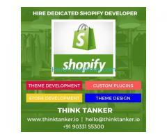 Top Shopify Development Company India - THINKTANKER